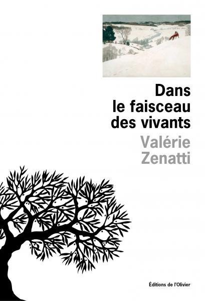 Couverture du livre Dans le faisceau des vivants de Valérie Zenatti