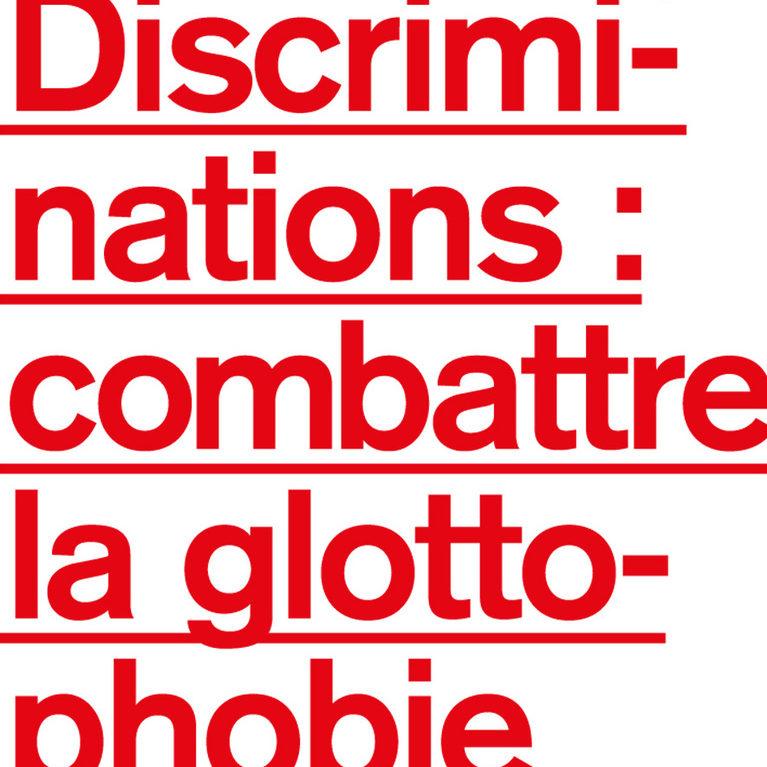 Couverture du livre Discriminations : combattre la glottophobie