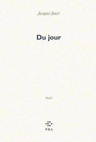 Couverture du livre Du jour de Jacques Jouet