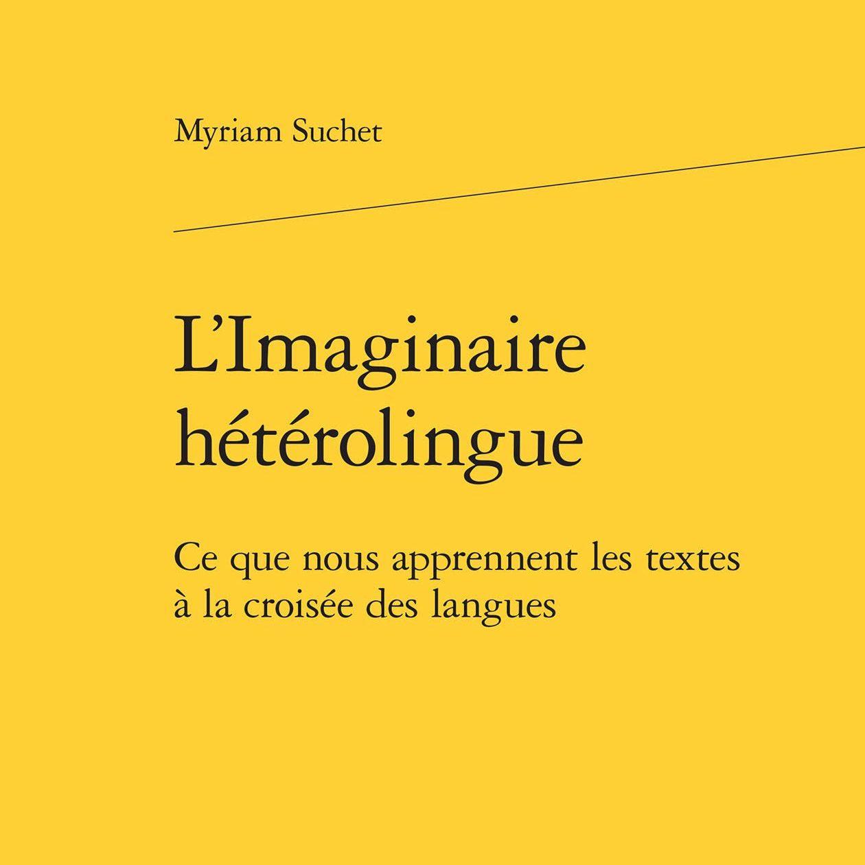 Couverture du livre L'imaginaire hétérolingue