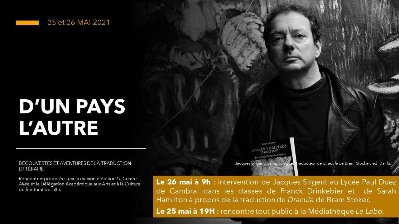 Projets pédagogiques 2020-2021 Jacques Sirgent