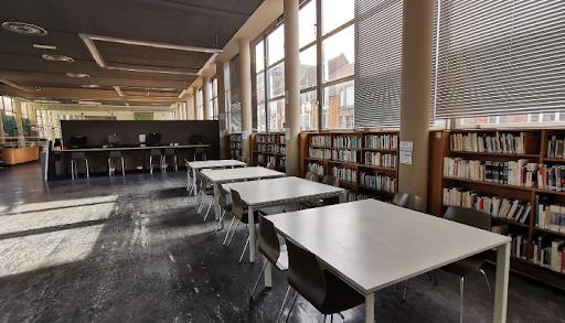 Bibliothèque Jean Lévy, intérieur