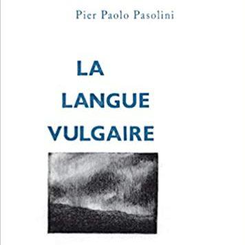 Couverture du livre La langue vulgaire