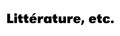 Logo Littérature etc
