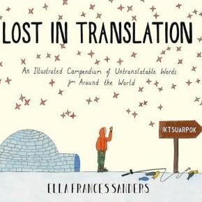 Couverture du livre Lost in translation