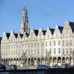 Beffroi d'Arras depuis la Grand'Place